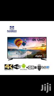 """Nasco 55 """"Smart- LED Android - Ultra HD 4K - Wifi LED TV 