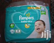 Pampers Baby Dry Size 4+ | Baby & Child Care for sale in Greater Accra, Airport Residential Area