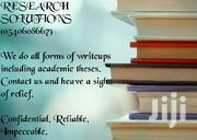 Research Writing Assistance | Classes & Courses for sale in Volta Region, Keta Municipal