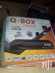 Q BOX S2+T2 COMBO DECODER | TV & DVD Equipment for sale in Greater Accra, Odorkor