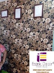 Wooden Log Graham Wallpaper | Home Accessories for sale in Greater Accra, Roman Ridge