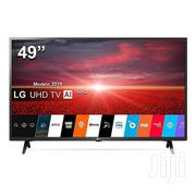 Lg Uhd 4K Smart Satellite Led Tv 49 Inches | TV & DVD Equipment for sale in Greater Accra, Asylum Down