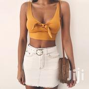 Sexy Ladies V-neck Bow-tie Vest | Clothing for sale in Greater Accra, Odorkor