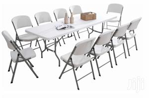 10 Seater Event Table Available in Different Types