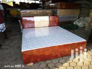 Royal Beijing Leather Queen Bed   Furniture for sale in Greater Accra, Ga West Municipal