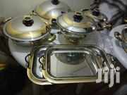 12 Pieces Gold Cameo Cookware Set | Kitchen & Dining for sale in Greater Accra, Ga West Municipal