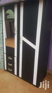 Promo On Black Double Door Wardrobe With A White Design. Free Delivery | Doors for sale in Greater Accra, Sempe New Town