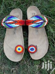 Beaded Brinkenstock Slippers | Shoes for sale in Greater Accra, Odorkor