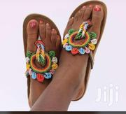 OHEMA Beaded Slippers | Shoes for sale in Greater Accra, North Kaneshie