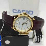 Casio Leather Watch Brown | Watches for sale in Greater Accra, Accra Metropolitan