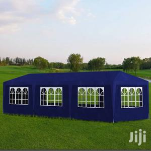 Big Partytent 8 Side Walls Blue, 30 X 10 Feet