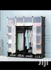 Plastic Wardrobe- 16 Cubes& Shoe Rack | Furniture for sale in Greater Accra, Accra Metropolitan