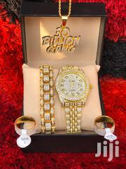 Jewellery Set With ROLEX Watch, Bracelet, Rings & Necklace | Jewelry for sale in Greater Accra, Dansoman