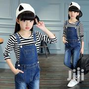 Unique Jeans Braces Trousers and Sweatshirt | Children's Clothing for sale in Greater Accra, Achimota
