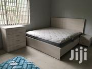 New King Size Beds With Side Drawer Chest of Drawers   Furniture for sale in Greater Accra, Abelemkpe