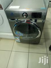 Silver Nasco 10/ 6 Kg Combo Front Load Washing Machine | Home Appliances for sale in Greater Accra, East Legon