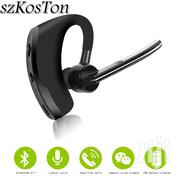 V8 Bluetooth Noise Cancellation Voice Command Headset | Headphones for sale in Greater Accra, Accra Metropolitan