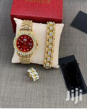 Original Iced Rolex Watch With Bracelet Ring | Jewelry for sale in Greater Accra, Dansoman