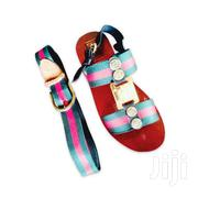 Men Sandals, Anchored Gucci Strap And Belt | Shoes for sale in Eastern Region, Asuogyaman