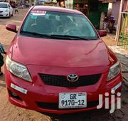 Toyota Corolla 2009 1.6 Advanced Red | Cars for sale in Greater Accra, Kwashieman