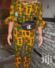 African Print Jumpsuit, Free Size | Clothing for sale in Greater Accra, Accra Metropolitan