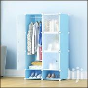 6 Cubes Wardrobe With Shoe Rack | Furniture for sale in Greater Accra, Tesano