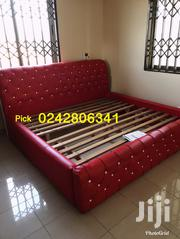 Neat Stuffing King Size Beds With Two Side Drawers | Furniture for sale in Greater Accra, Abelemkpe