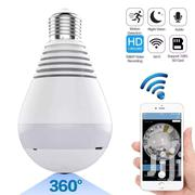 360° Fisheye Panoramic Wifi LED 1080P Light Bulb With Hidden Camera | Security & Surveillance for sale in Greater Accra, Labadi-Aborm