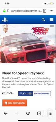 Need For Speed Payback Ps4 Offline Games   Video Game Consoles for sale in Greater Accra, Ga West Municipal