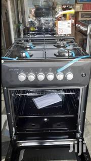 Volcano 4 Burner Gas Cooker With Oven Stainless | Restaurant & Catering Equipment for sale in Greater Accra, Accra Metropolitan