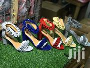 Shinny Ladies Bulk Heel | Shoes for sale in Greater Accra, Adabraka
