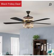 5 Blades Ceiling Fan With Chandelier Light And Remote | Home Accessories for sale in Eastern Region, New-Juaben Municipal