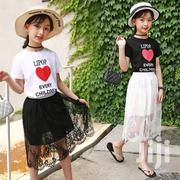 High Quality Cotton T-shirts And Lace Skirts | Children's Clothing for sale in Greater Accra, Achimota