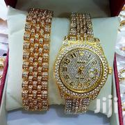 Iced Rolex Watch With Bracelet And A Ring | Watches for sale in Greater Accra, Dzorwulu