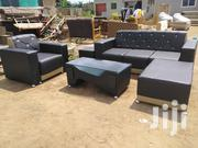 Stylish Leather Sofa | Furniture for sale in Greater Accra, Ga East Municipal