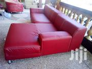 Beautiful New L Shape Sofa Red | Furniture for sale in Greater Accra, Dansoman