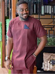 Wine African Wear for an Occasion   Clothing for sale in Greater Accra, Tema Metropolitan