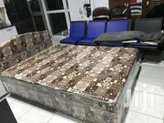 Nice Quality Inbuilt Double Bed   Furniture for sale in Greater Accra, Adabraka