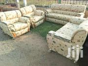 Golden Set Of Couch With Free Delivery. | Furniture for sale in Greater Accra, East Legon (Okponglo)