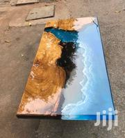 Epoxy Classic Table With Hairpin Leg | Furniture for sale in Greater Accra, Ledzokuku-Krowor