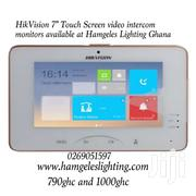 Hikvision Touch Screen Video Intercom Monitors for Sale | Cameras, Video Cameras & Accessories for sale in Greater Accra, Airport Residential Area
