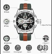 GOLDENHOUR Men's Fashion Outdoor Analog Digital Watches Waterproof | Watches for sale in Greater Accra, Achimota
