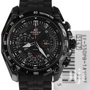 Stainless Black Casio Edifice Mans Watch | Watches for sale in Greater Accra, Achimota