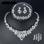 Sterling Silver Wedding Necklace Set | Jewelry for sale in Greater Accra, Ga South Municipal