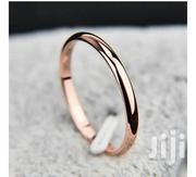 2mm Men/Women Titanium Steel Rose Gold Wedding Ring | Jewelry for sale in Greater Accra, Odorkor