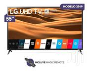 """With Magic Remote LG 55""""Satellite Smart UHD 4K Led TV 