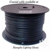 Coaxial Cable With Power Cable 305meters   Cameras, Video Cameras & Accessories for sale in Greater Accra, Airport Residential Area