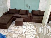 And L-shaped Sofa Chair Ad A 2in1😘😘😘😘   Furniture for sale in Greater Accra, Adenta Municipal