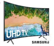 New Samsung Curved Slim Smart 4K UHD Satellite TV 49 Inches | TV & DVD Equipment for sale in Greater Accra, Adabraka