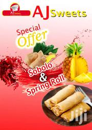 Frozen Spring Rolls And Sobolo | Meals & Drinks for sale in Greater Accra, Accra Metropolitan